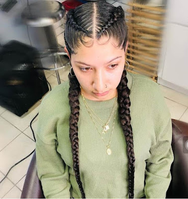 Latest Cornrow Braids for Black Women