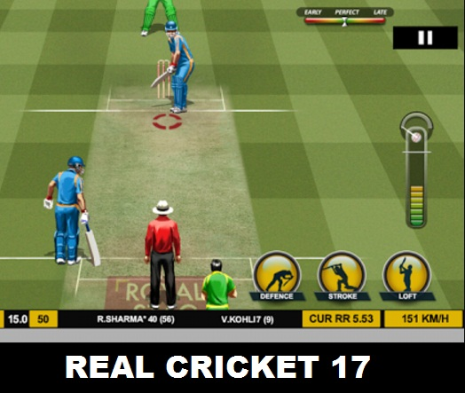 Real Cricket 2017 Multiplayer Online Android Game