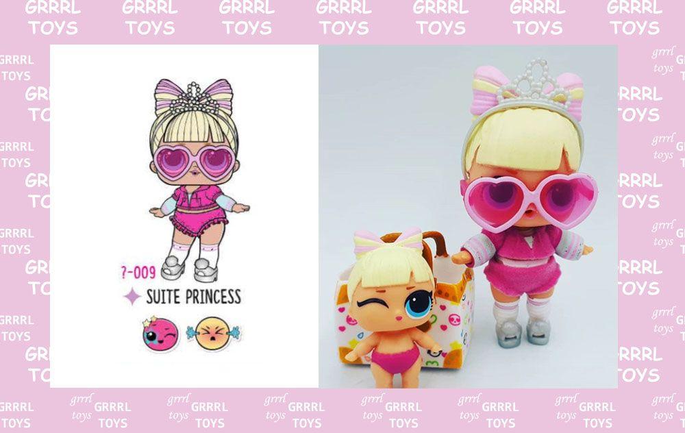 LOL Surprise Doll LIL SUITE PRINCESS Glam Club Eye Spy Series 4  Wave 2 Sister