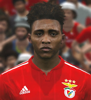 PES 2017 Faces Gedson Fernandes by ABW_FaceEdit