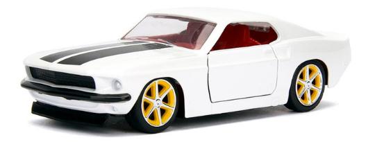 coleccion rapido y furioso, coleccion rapido y furioso jada tyos, coleccion rapido y furioso 1/32, 1969 Ford Mustang MK1