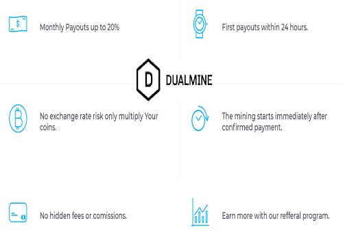 Dualmine Review: is dualmine.com SCAM or LEGIT? Multiply your Crypto with Dual Mine cloud Mining contracts