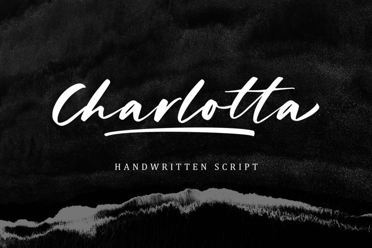 Charlotta Font - Free Brush Script Typeface
