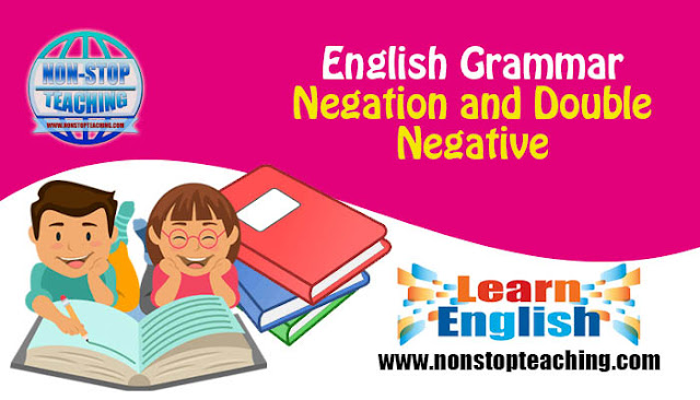 Negation and Double Negative