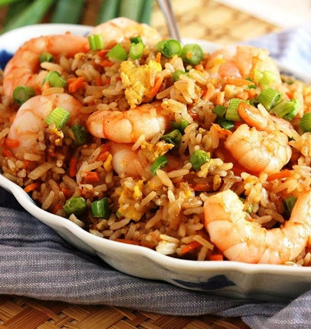 Shrimp and Fried Rice - 1