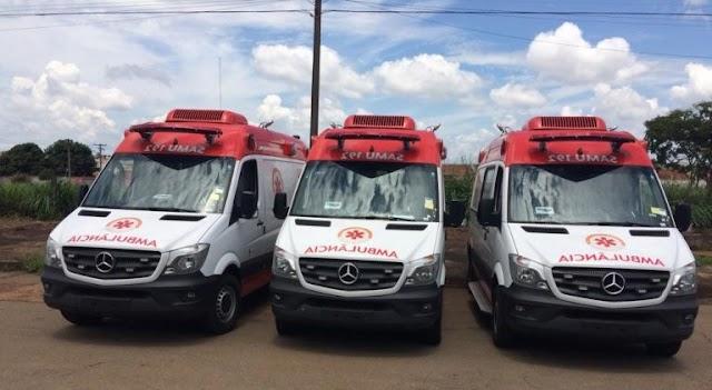 Goiânia: Samu reforça quantitativo de viaturas para transportar pacientes de Manaus