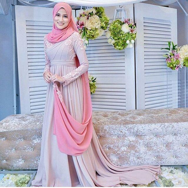 Fesyen Baju Tunang 2017