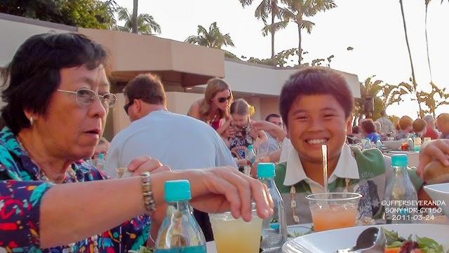 Wailele Luau: Diana, Jian & Nica