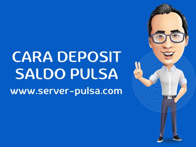 Cara Deposit / Mengisi Saldo Pulsa Murah di Server-Pulsa.com