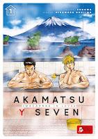 Akamatsu y Seven: Macarras in Love #1 - manga BL - Shoowa y Hiromasa Okujima - Ediciones Tomodomo