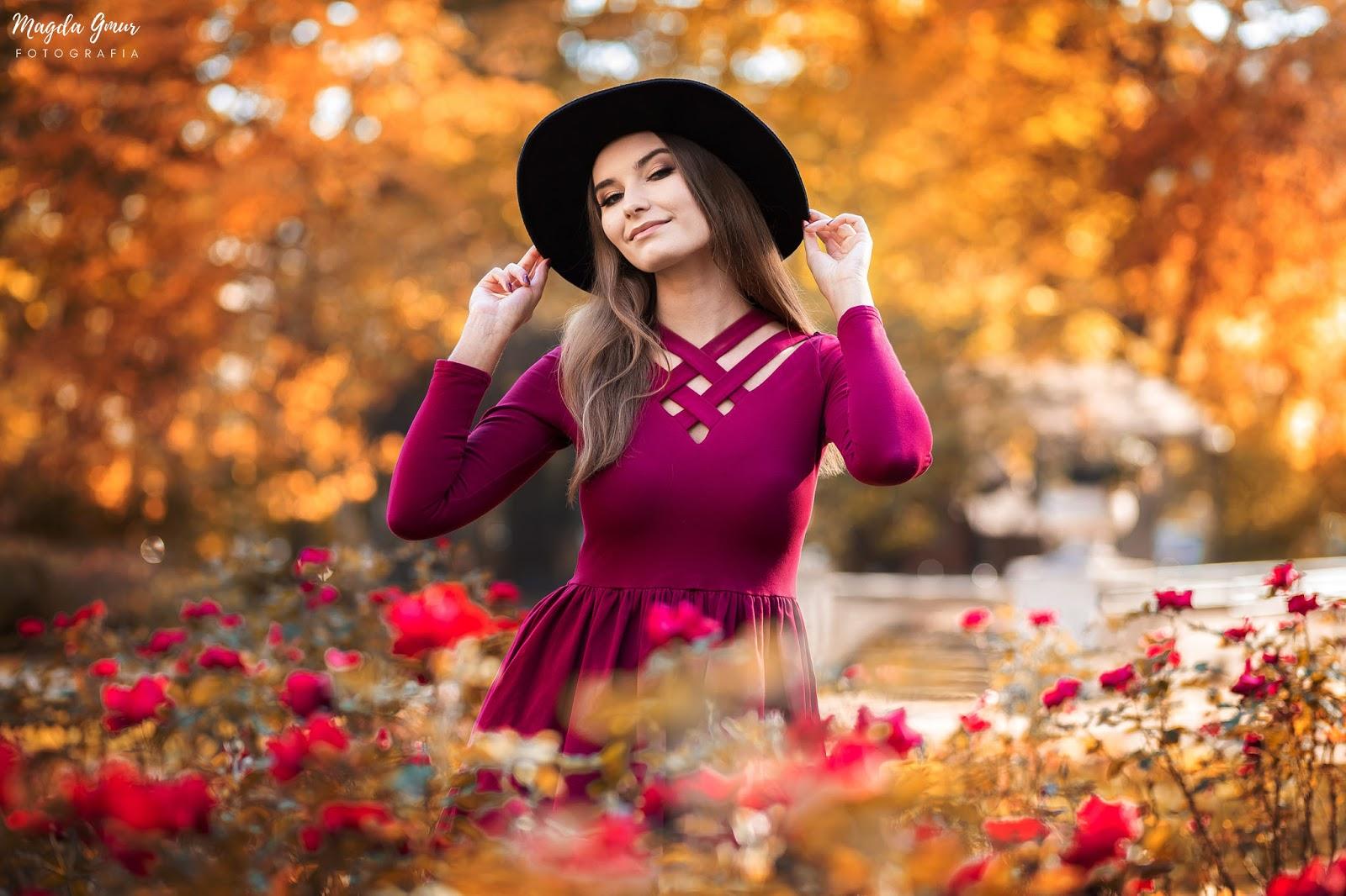 jesienna sesja, fotograf lublin, fotograf opoczno, sesja w ogrodzie saskim, ogrod saski lublin, magda gmur fotografia, jesienny portret