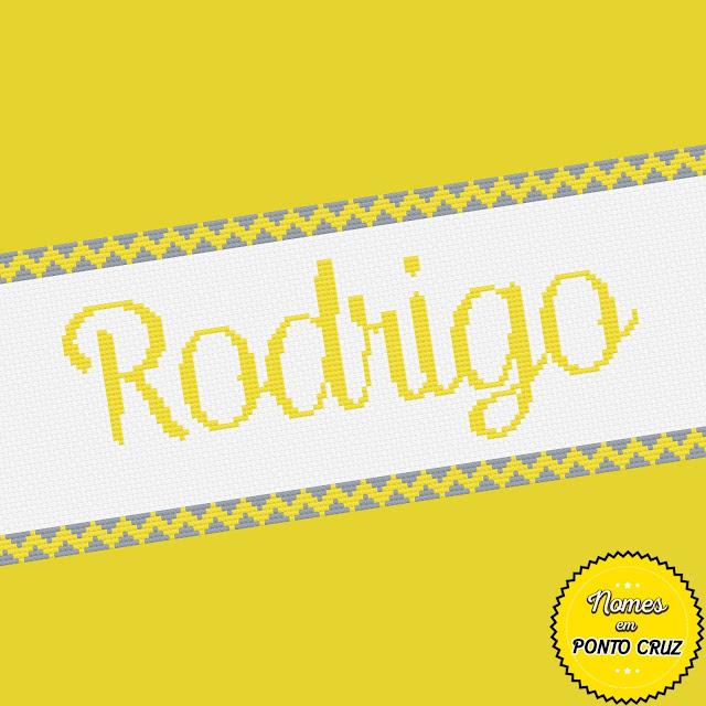 Nome Rodrigo em Ponto Cruz