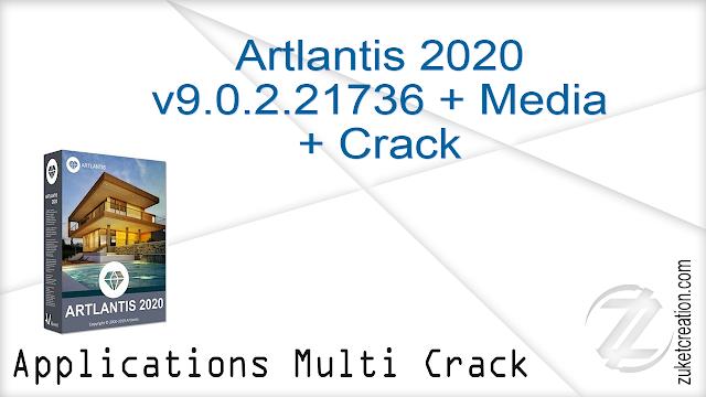 Artlantis 2020 v9.0.2.21736 + Media + Crack