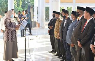 Kukuhkan Forum Kades, Bupati: Ini Sejarah Pertama di Kabupaten Bima
