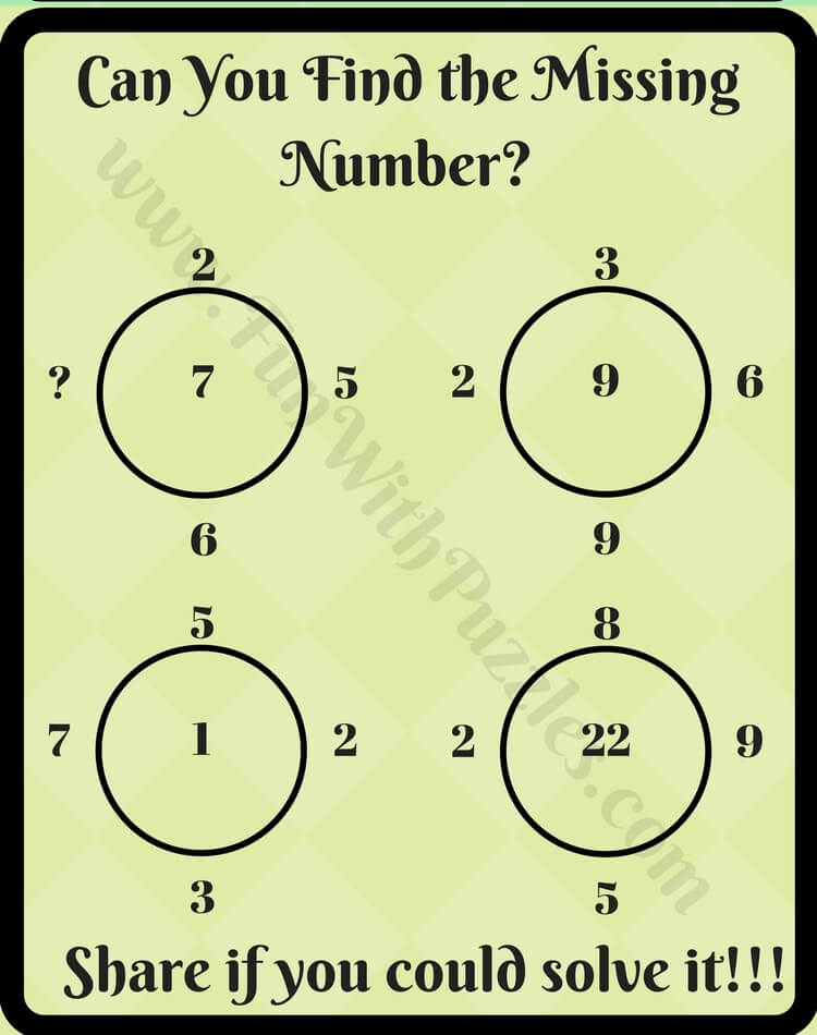 Tricky Maths Logical Puzzle Question-Fun With Puzzles