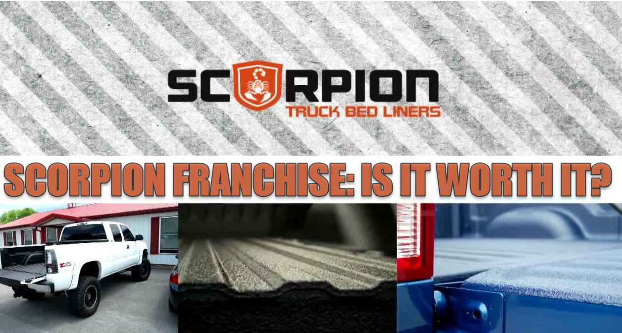 Bedliner Franchise Review: Scorpion Coatings