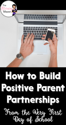 Start building positive parent partnerships from the very first day of school and maintain communication with parents throughout the year by sending home a syllabus, creating a parent contact log, and calling as much for the positives as the negatives.