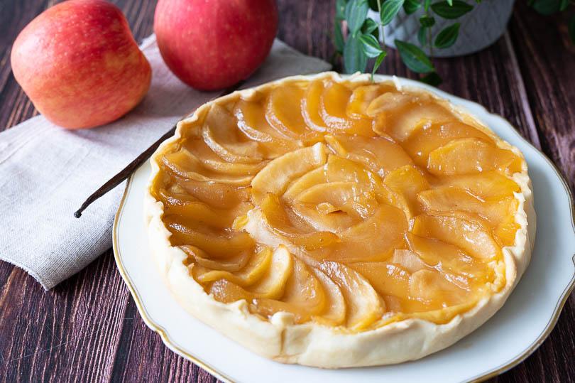Recette tarte aux pommes et vanille