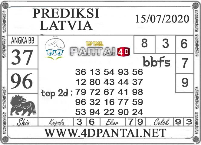PREDIKSI TOGEL LATVIA PANTAI4D 15 JULI 2020