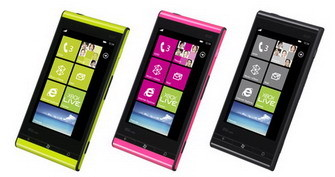 Toshiba-Fujitsu IS12T Windows Phone Mango