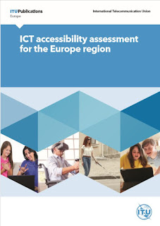 The cover page of the ITU report on ICT accessibility assessment for the Europe region