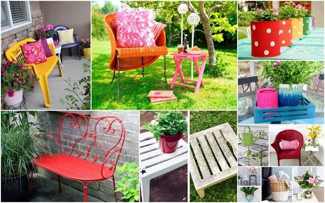 6 Υλικά & Τύποι αντικειμένων που θα Βάψετε πολύ εύκολα με Χρώμα σε Σπρέϊ