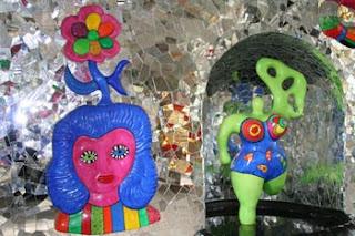 Herrenhäuser Gärten - Grotte gestaltet von Niki de Saint Phalle
