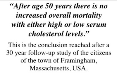 blood cholesterol level is not important