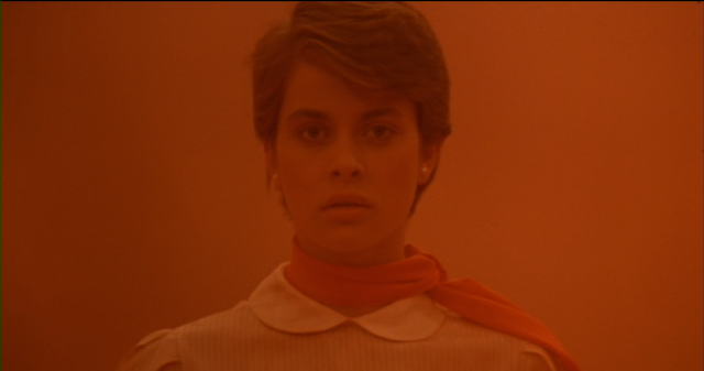 Nastassja Kinski as Irena Gallier in CAT PEOPLE (1982).