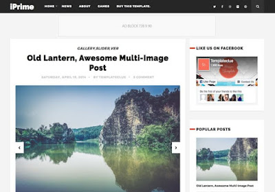clean and beautiful Blogger Template Download