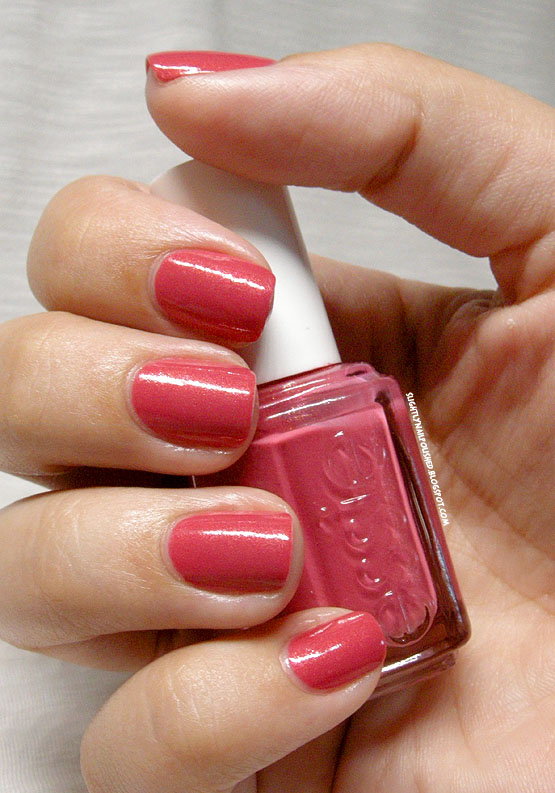 Slightly Nail Polished Swatch Review Essie Your Hut Or Mine