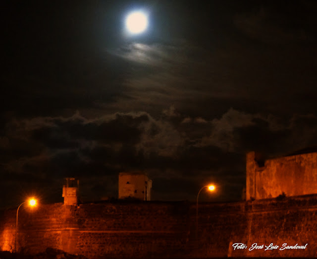 Fotos superluna 14 noviembre, Las palmas de Gran Canaria