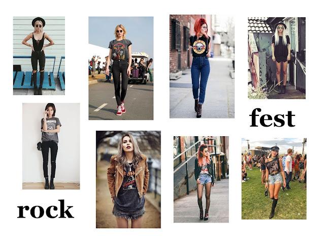 jak się ubrać na festiwal - w co się ubrać na festiwal - festival look - festival fashion - festival outfit - festiwale muzyczne  2019 w Polsce - rock festival