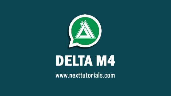 DELTA M4 v3.7.3F Apk Mod Latest Version Android,Install Aplikasi DELTA M4 WA Anti Banned Terbaru 2021,tema whatsapp keren,download wa mod terbaru 2021