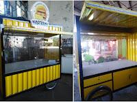 Jasa pembuatan Booth Container - Gerobak Martabak Container