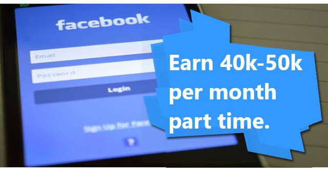 How to earn money from Facebook Facebook login.