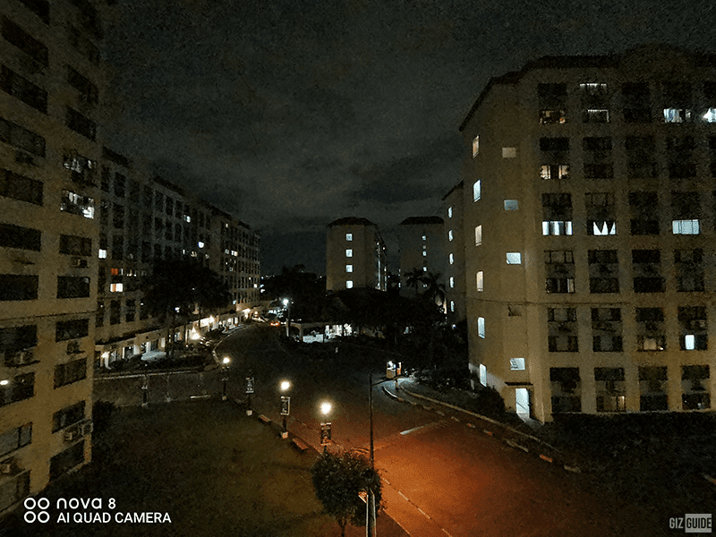 Ultra-wide cam low light