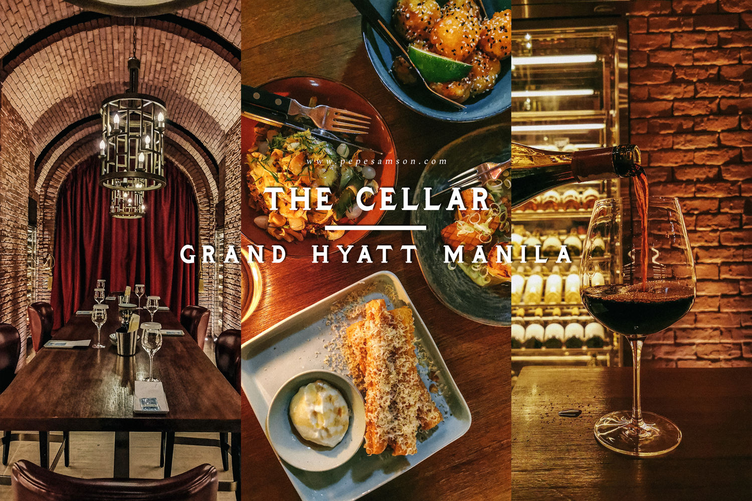 Dining Out in 2021: My Thoughts on The Cellar at the Grand Hyatt Manila