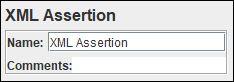 JMeter - XML Assertion