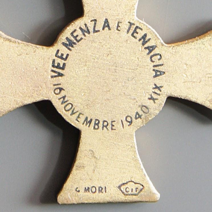 particolare croce 11 undicesima armata mori mignon retro