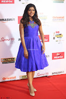 Eesha in Cute Blue Sleevelss Short Frock at Mirchi Music Awards South 2017 ~  Exclusive Celebrities Galleries 009.JPG
