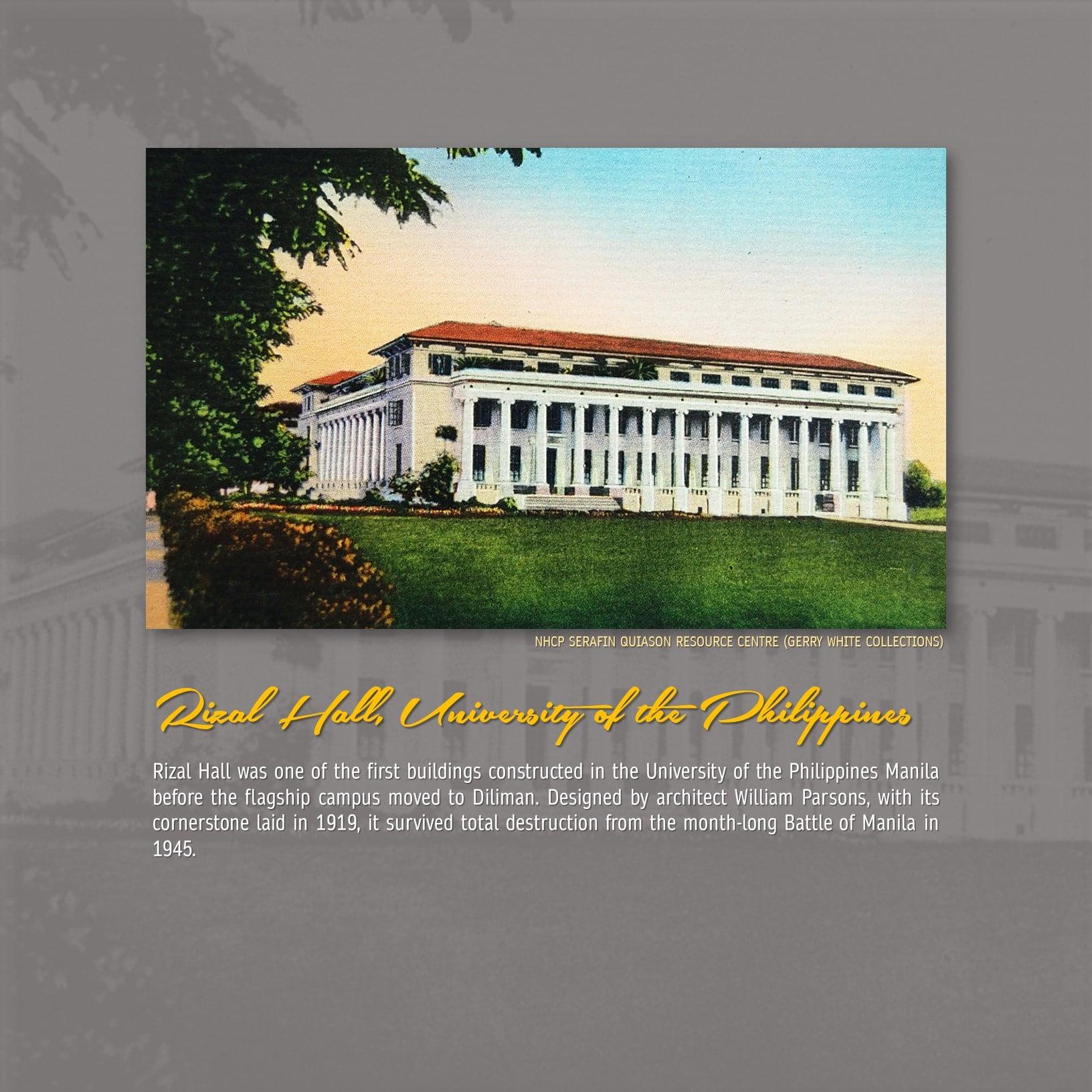 Rizal Hall, University of the Philippines