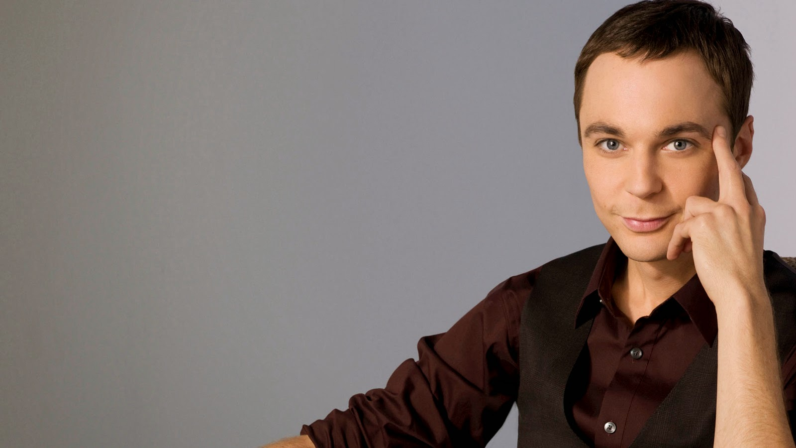 Sheldon - Jim Parsons - Papel de parede The Big Bang Theory