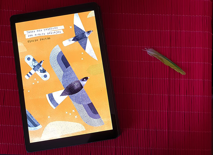 Reseña de «Todas mis palabras son azores salvajes», de Gloria Fortún (Dos Bigotes)