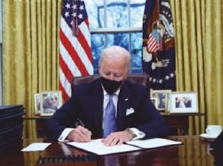 Asking for unity, Biden unveils ambitious agenda