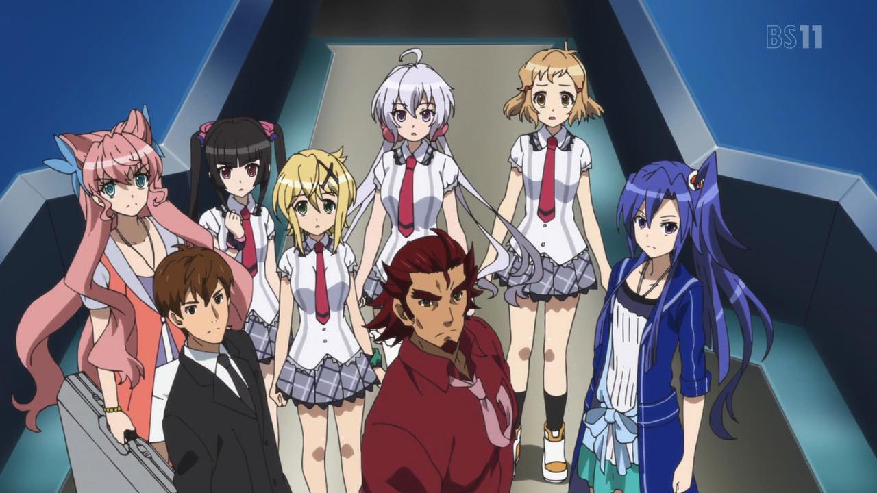 [Anime do Mês] - Senki Zesshou Symphogear 5/5 Symphogear-AXZ-Cast