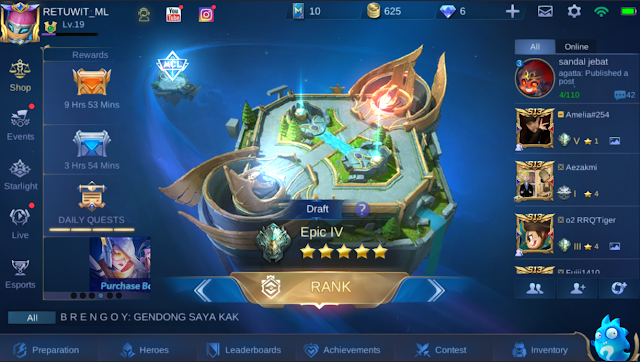 Download Mobile Legends UI 2.0 APK Tencent Gaming Buddy Emulator