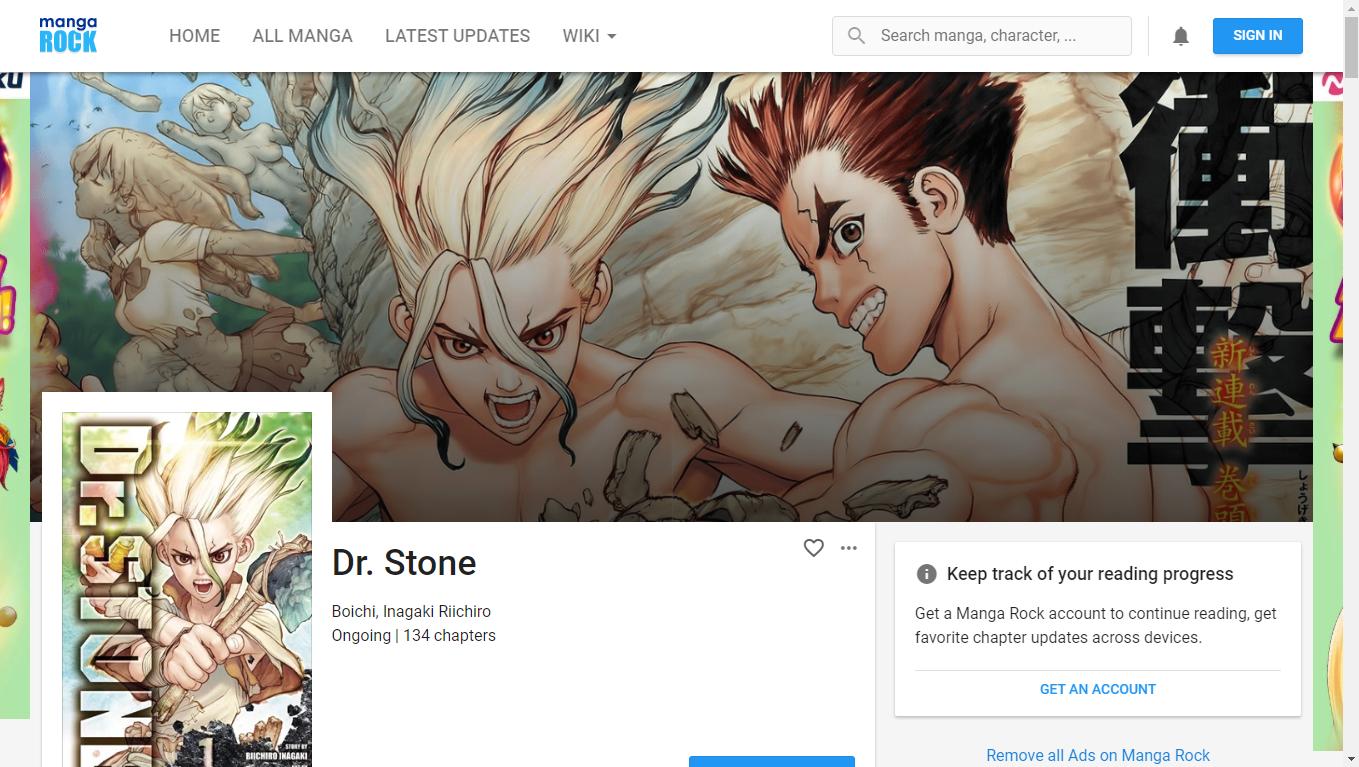 Baca Manga Dr Stone Bahasa Indonesia