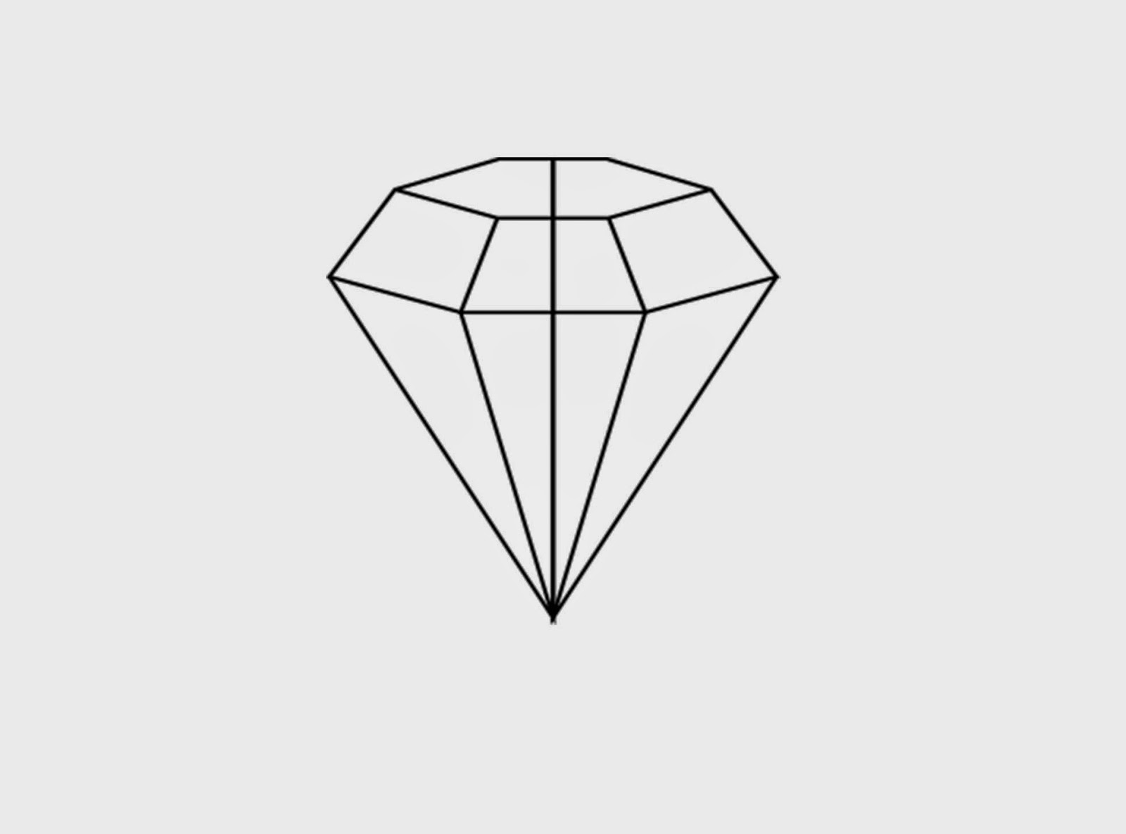 This is a photo of Playful Diamond Shape Drawing