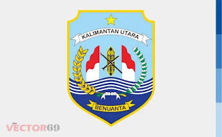 Logo Provinsi Kalimantan Utara (Kalut) - Download Vector File EPS (Encapsulated PostScript)